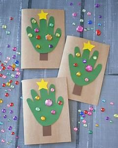 Weihnachtsbasteln Mit Kindern Vorlagen : weihnachtskarten mit kindern basteln einfach 10 ideen ~ Watch28wear.com Haus und Dekorationen
