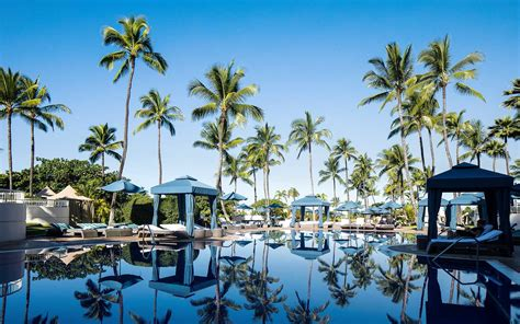 The 2017 World's Best Resort Hotels In Hawaii