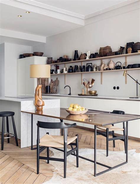 ilot cuisine table comment concevoir l îlot cuisine idées et conseils d