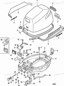 Mercury Mercury  U0026 Mariner Outboard Parts By Hp  U0026 Liter 9 9hp Oem Parts Diagram For Cowling  Sn