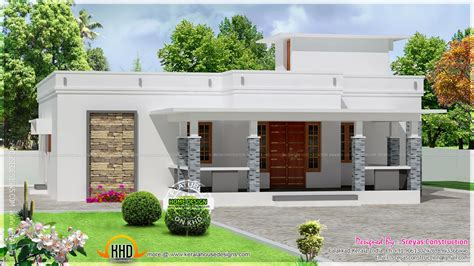home designs floor plans small house elevation with 3d rendering and 2d drawing