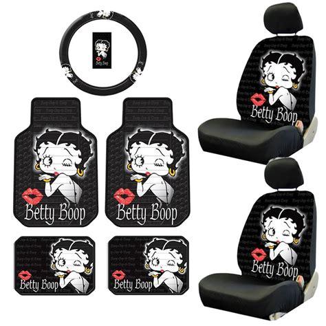 Betty Boop Rubber Floor Mats by 9pc Betty Boop Timeless Front Rear Rubber Floor Mats