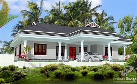 simple  beautiful kerala style  bedroom house   square feet  plan  kerala