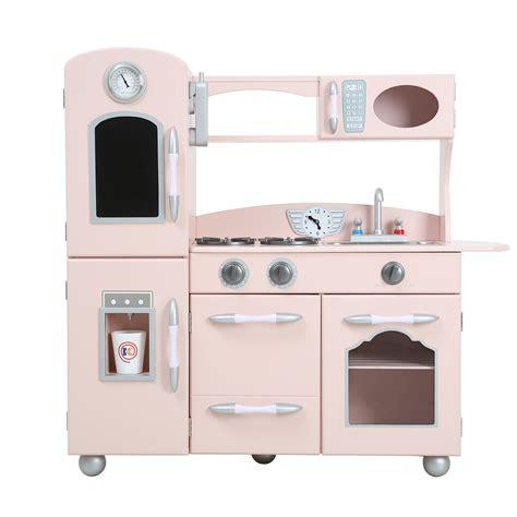 Teamson Kids Wooden Play Kitchen Set & Reviews  Wayfair