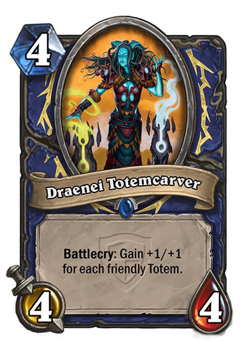 Hearthstone Grand Tournament Totem Deck by Cards The Grand Tournament Hearthstone