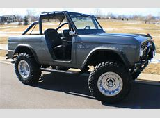68 Ford Bronco, early ford bronco, gray, 302,NEW 35x12