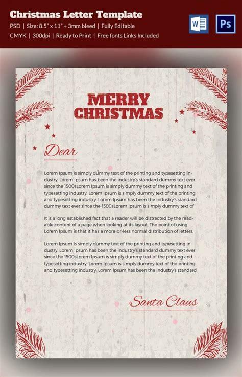 christmas letterheads word psd format