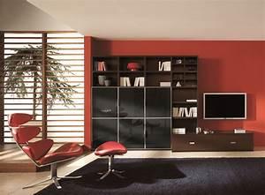 Modern black red luxury furniture furnitureteamscom for Black and red living room decor
