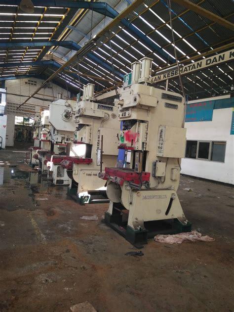 jual lelang mesin pabrik industri sparepart mesin tutup