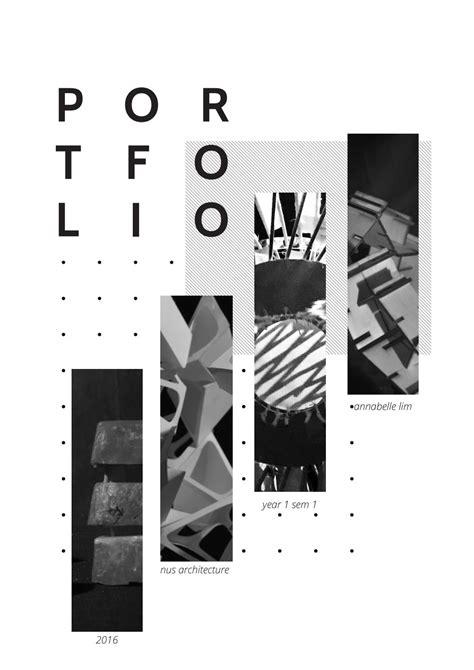 13771 architecture portfolio design cover nus architecture portfolio yr 1 sem 1 by annabelle lim issuu