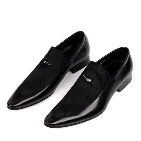 mens black dress shoes mens slip  dress shoes