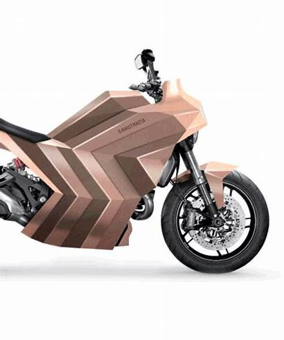 Motorcycle Castelli Copper Trimarchi Mario Scooter Designboom