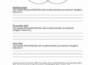 Printable Radical Acceptance Worksheet Pdf