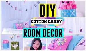 DIY Spring Cotton Candy Room Decor ideas for teens Cute