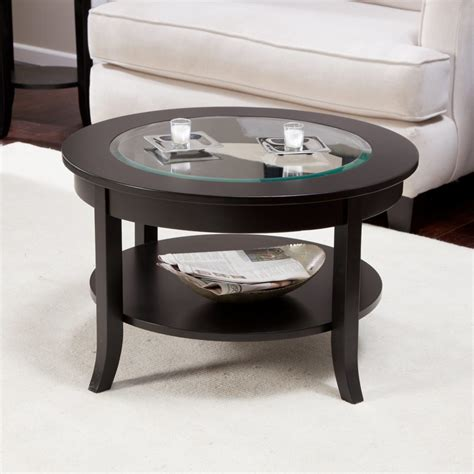 Exciting Small Glass Coffee Table Style Design Home
