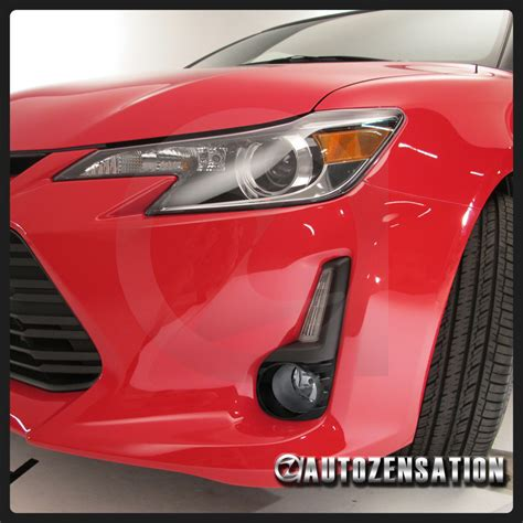 2014 2015 scion tc jdm clear lens bumper driving fog