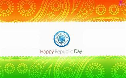 Republic Indian India Happy Wallpapers Flag Congress