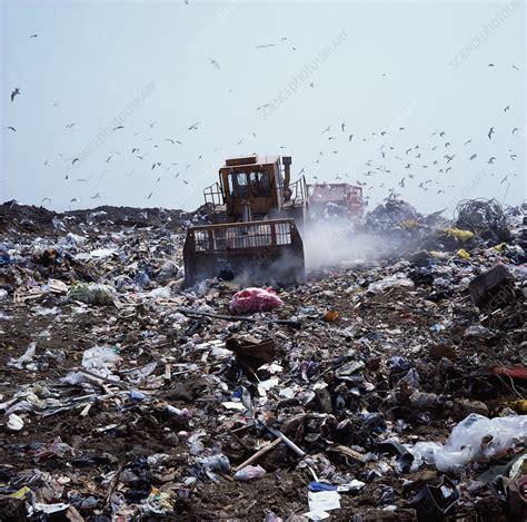 Landfill site - Stock Image - E800/0291 - Science Photo ...