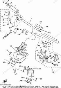 Yamaha Waverunner Parts 1999 Oem Parts Diagram For Steering 1