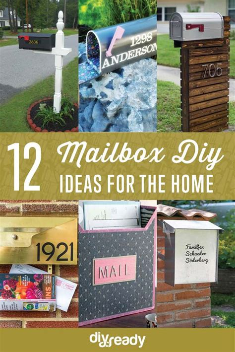 diy mailboxes project ideas diy projects craft ideas