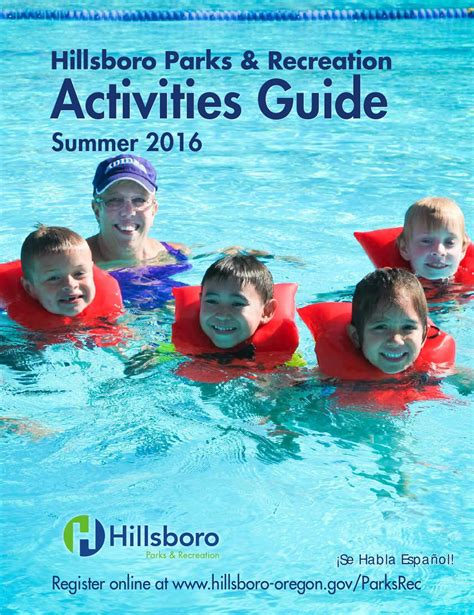 summer 2016 activities guide by city of hillsboro issuu 884 | page 1
