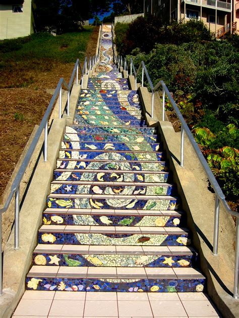 16th avenue tiled steps parking 5 outdoor san francisco spots to get your workout on 171 cbs