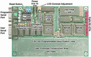 8051 Development System Circuit Board