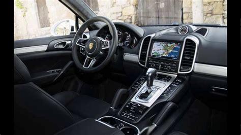 The Interior 2018 Porsche New Cayenne