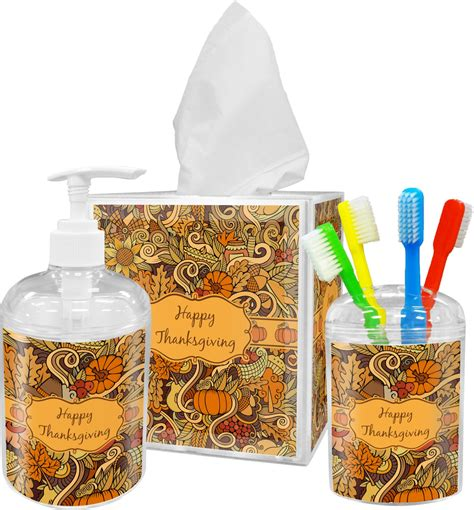 thanksgiving bathroom accessories set personalized potty training concepts