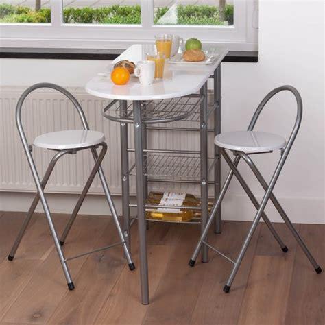 table de bar pour cuisine table de bar avec tabouret cuisine en image