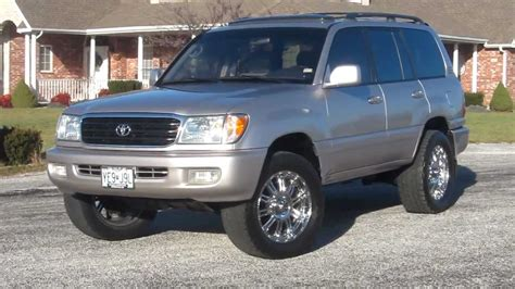 Toyota Land Cruiser Picture by 1999 Toyota Land Cruiser 100 Pictures Information And