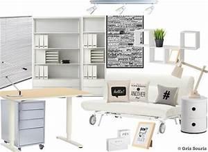 Planche Bureau Ikea : planche tendance moodboard bureau shopping kizuku ~ Dallasstarsshop.com Idées de Décoration