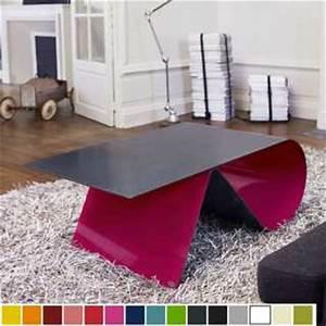 Tables Basses Haut De Gamme : table haute de luxe en acier et plaque de verre personnalisable design infini ~ Dode.kayakingforconservation.com Idées de Décoration