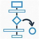 Project Planning Workflow Icon Plan Flowchart Management