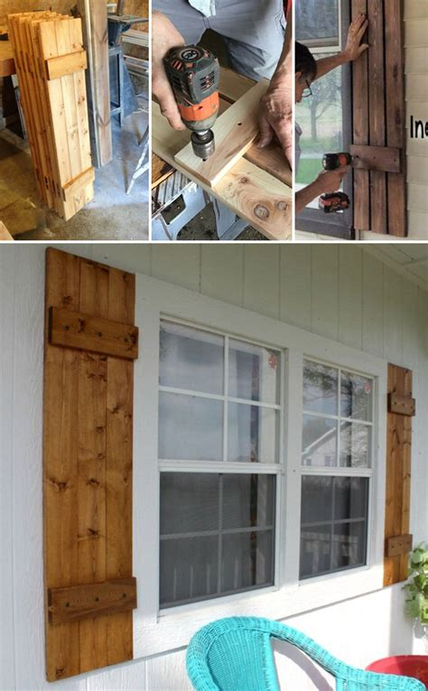 practical diy home projects      cedar