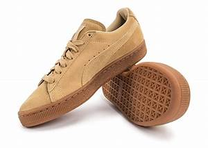 the latest 56d6b dd0ca puma suede classic w beige gum chaussures toutes les baskets sold es  chausport