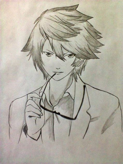 anime cool boy drawing cool anime drawing anime picture