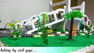 Civil engineering mini project - YouTube