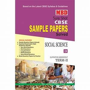 Oswal Science Sample Papers For Class 10 Term 2 Free