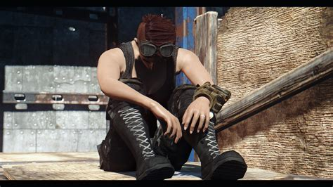 For Sitting by Sitting Pose For Fo4 Mod