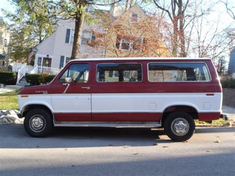 best car repair manuals 1994 ford club wagon electronic valve timing ford 7 3 diesel club wagon quot 53 000 miles quot for sale photos technical specifications description