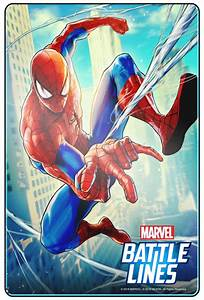 Marvel Battle Lines: Marvel and Nexon team up for a new ...  Spiderman