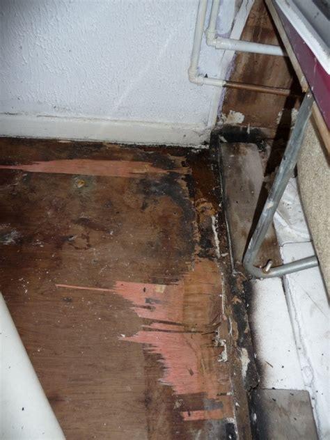 bathroom floor repair water damage bathroom floor repair