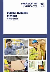 Manual Handling Operations Regulations  A Brief Guide