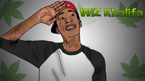 Cartoon Wiz Khalifa