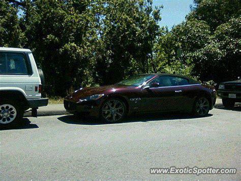 Maserati Of San Francisco by Maserati Granturismo Spotted In San Francisco California
