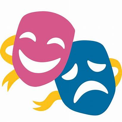 Emoji Theatre Svg Theater Stage Society Commons