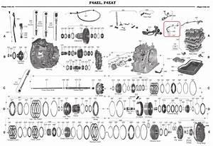 Internal Wiring Harness  Automatic Transmission F4ael