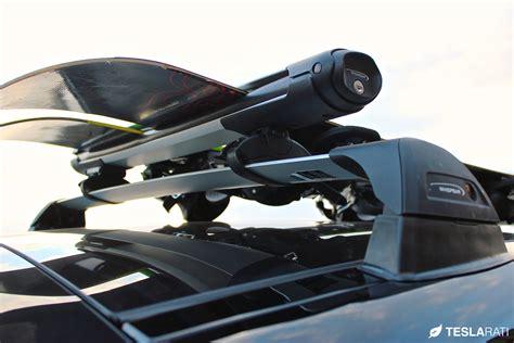 tesla roof rack tesla model s roof rack system whispbar review