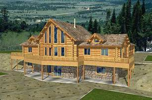 cabin plans with basement superb log house plans 9 log cabin home plans with basement smalltowndjs